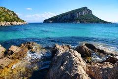 Golfo aranci i Sardinia, Italien Arkivbilder
