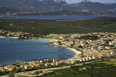 Golfo Aranci, panoramica fotografía de archivo libre de regalías