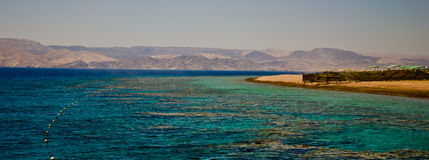 Golfo de Aqaba Foto de archivo libre de regalías