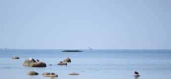 Golfo de Finlandia Imágenes de archivo libres de regalías