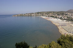 Golfo de Gaeta Italia Imagenes de archivo