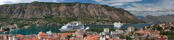 Golfo de Kotor Foto de Stock Royalty Free