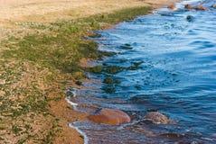 Golfo de la costa costa de Finlandia Fotografía de archivo