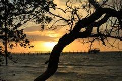 Golfo de M?xico foto de archivo libre de regalías