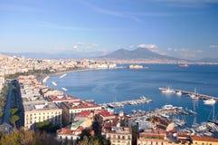 Golfo de Nápoles Foto de archivo