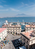 Golfo de Nápoles Foto de Stock Royalty Free