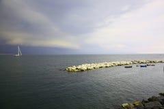 Golfo de Nápoles Fotografía de archivo libre de regalías