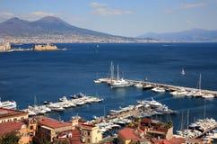 Golfo de Napoli Fotografía de archivo libre de regalías