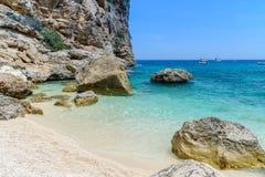 Golfo de Orosei em sardinia, Italia Imagem de Stock Royalty Free