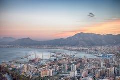 Golfo de Palermo fotos de archivo