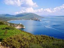 Golfo de Porto Conte Foto de Stock Royalty Free