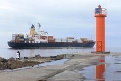 Golfo de Riga, Riga, Letonia Imagenes de archivo