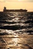 Golfo de Salónica Imágenes de archivo libres de regalías