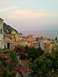 Golfo de Salerno Fotos de archivo