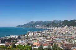 Golfo de Salerno Imágenes de archivo libres de regalías