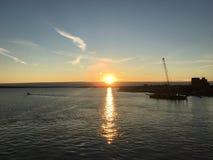 Golfo del santo Lorenzo canadá fotografía de archivo libre de regalías