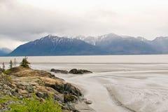 Golfo dell'Alaska Immagini Stock Libere da Diritti