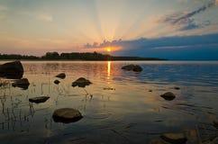 Golfo della Finlandia Fotografia Stock