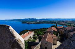 Golfo di Baratti stock photography