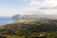 Golfo di Bonagia fotografia stock