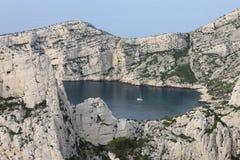 Golfo di Calanques a Marsiglia Fotografie Stock
