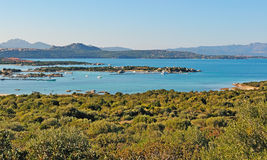 Golfo di Marinella Royalty Free Stock Photography