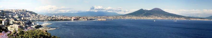 Golfo di Napoli Fotografie Stock