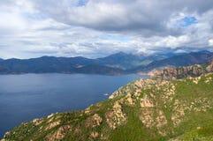 Golfo di Oporto, Corsica, Francia Immagine Stock Libera da Diritti