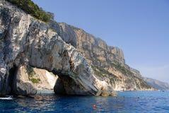 Golfo di Orosei, Cerdeña, Italia Imágenes de archivo libres de regalías