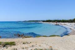 Golfo di Orosei in Sardegna, Italia Immagini Stock