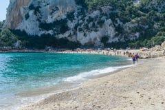 Golfo di Orosei in Sardegna Italia Fotografie Stock Libere da Diritti