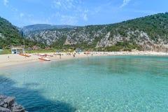 Golfo di Orosei in Sardegna, Italia Fotografia Stock Libera da Diritti