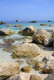 Golfo di Orosei, Sardinien, Italien Stockbild