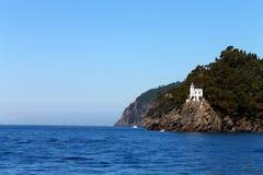 Golfo di Portofino ed il mare fotografia stock