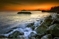 Golfo di Pozzuoli Royaltyfri Foto