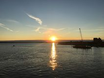 Golfo di Saint Lawrence canada fotografia stock libera da diritti