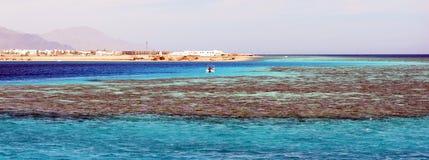 Golfo do Mar Vermelho, Aqaba, Egito Foto de Stock