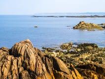 Golfo e rocce Fotografie Stock Libere da Diritti
