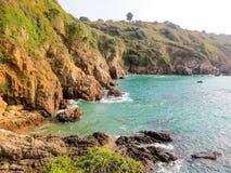 Golfo e rocce Fotografia Stock