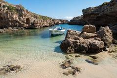 Golfo estreito em Grécia Foto de Stock Royalty Free