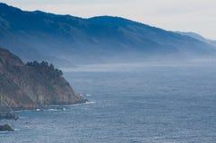 Golfo pacifico nella foschia Fotografia Stock