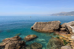 Golfo Paradiso, Liguria, Italy Stock Photos