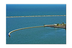 Golfo por la bahía Fotografía de archivo libre de regalías