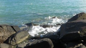 Golfoverzees Royalty-vrije Stock Afbeeldingen