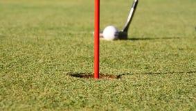 golfowa dziura Zdjęcie Royalty Free