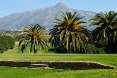 golfowa góra Zdjęcie Stock