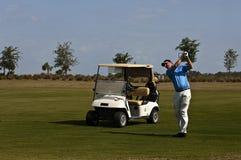 golfowa huśtawka zdjęcia stock