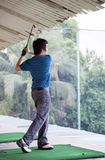 Golfowa praktyka zdjęcie royalty free
