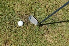 golfowa sztuka gotowa Fotografia Stock