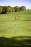 golfowa zieleń Obrazy Royalty Free